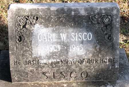 SISCO, CARL W - Carroll County, Arkansas | CARL W SISCO - Arkansas Gravestone Photos