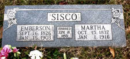 SISCO, MARTHA - Carroll County, Arkansas | MARTHA SISCO - Arkansas Gravestone Photos