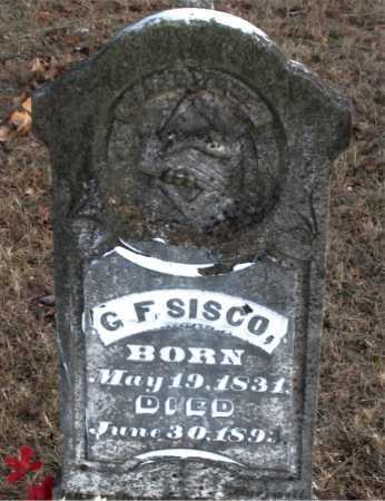 SISCO, G.  F. - Carroll County, Arkansas | G.  F. SISCO - Arkansas Gravestone Photos