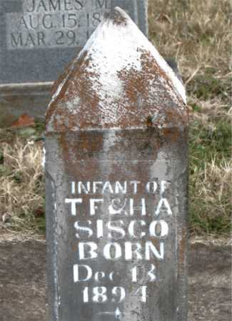 SISCO, INFANT - Carroll County, Arkansas | INFANT SISCO - Arkansas Gravestone Photos