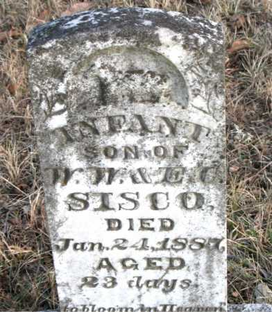 SISCO, INFANT SON - Carroll County, Arkansas | INFANT SON SISCO - Arkansas Gravestone Photos