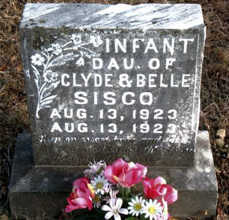 SISCO, INFANT DAUGHTER - Carroll County, Arkansas | INFANT DAUGHTER SISCO - Arkansas Gravestone Photos