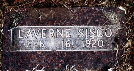 SISCO, LAVERNE - Carroll County, Arkansas | LAVERNE SISCO - Arkansas Gravestone Photos