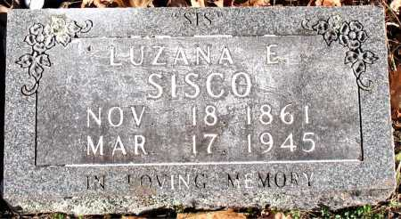 SISCO, LUZANA E - Carroll County, Arkansas | LUZANA E SISCO - Arkansas Gravestone Photos