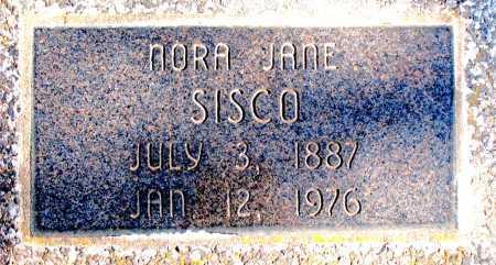 SISCO, NORA JANE - Carroll County, Arkansas | NORA JANE SISCO - Arkansas Gravestone Photos