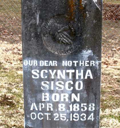 SISCO, SCYNTHA - Carroll County, Arkansas | SCYNTHA SISCO - Arkansas Gravestone Photos