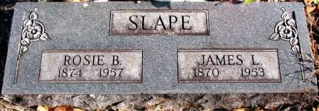 SLAPE, JAMES L. - Carroll County, Arkansas | JAMES L. SLAPE - Arkansas Gravestone Photos