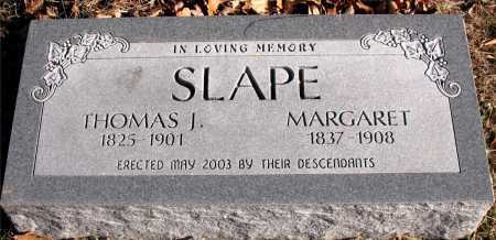 SLAPE, MARGARET - Carroll County, Arkansas | MARGARET SLAPE - Arkansas Gravestone Photos