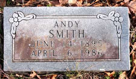 SMITH, ANDY - Carroll County, Arkansas | ANDY SMITH - Arkansas Gravestone Photos