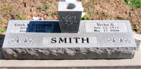 SMITH, VERLIN G - Carroll County, Arkansas | VERLIN G SMITH - Arkansas Gravestone Photos