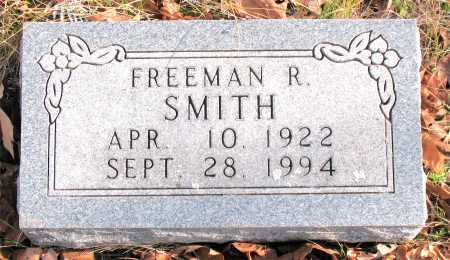 SMITH, FREEMAN  R. - Carroll County, Arkansas | FREEMAN  R. SMITH - Arkansas Gravestone Photos
