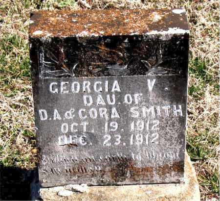 SMITH, GEORGE V - Carroll County, Arkansas | GEORGE V SMITH - Arkansas Gravestone Photos
