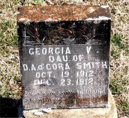 SMITH, GEORGE V - Carroll County, Arkansas | GEORGE V SMITH - Arkansas Gravestone Photos
