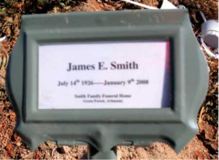 SMITH, JAMES E - Carroll County, Arkansas | JAMES E SMITH - Arkansas Gravestone Photos
