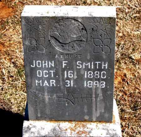 SMITH, JOHN F. - Carroll County, Arkansas | JOHN F. SMITH - Arkansas Gravestone Photos