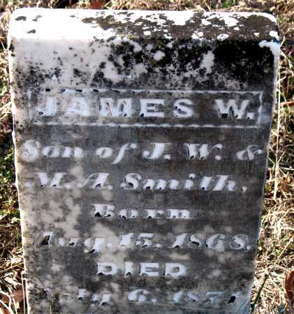 SMITH, JAMES W. - Carroll County, Arkansas | JAMES W. SMITH - Arkansas Gravestone Photos