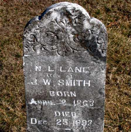 LANE SMITH, N  L - Carroll County, Arkansas | N  L LANE SMITH - Arkansas Gravestone Photos