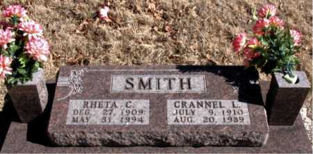 SMITH, CRANNEL L. - Carroll County, Arkansas | CRANNEL L. SMITH - Arkansas Gravestone Photos