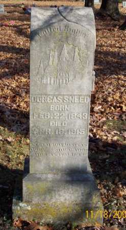 SNEED, DORCAS - Carroll County, Arkansas | DORCAS SNEED - Arkansas Gravestone Photos
