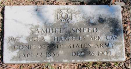 SNEED (VETERAN CSA), SAMUEL - Carroll County, Arkansas | SAMUEL SNEED (VETERAN CSA) - Arkansas Gravestone Photos