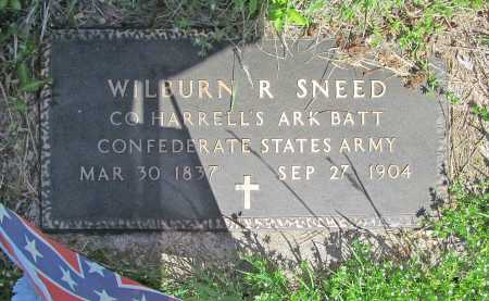 SNEED (VETERAN CSA), WILBURN R - Carroll County, Arkansas | WILBURN R SNEED (VETERAN CSA) - Arkansas Gravestone Photos