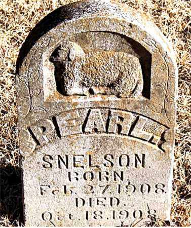 SNELSON, PEARL - Carroll County, Arkansas | PEARL SNELSON - Arkansas Gravestone Photos