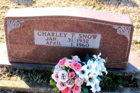 SNOW, CHARLEY  T. - Carroll County, Arkansas | CHARLEY  T. SNOW - Arkansas Gravestone Photos