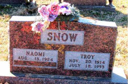 SNOW, TROY - Carroll County, Arkansas | TROY SNOW - Arkansas Gravestone Photos