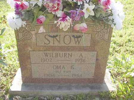 SNOW, WILBURN A. - Carroll County, Arkansas | WILBURN A. SNOW - Arkansas Gravestone Photos