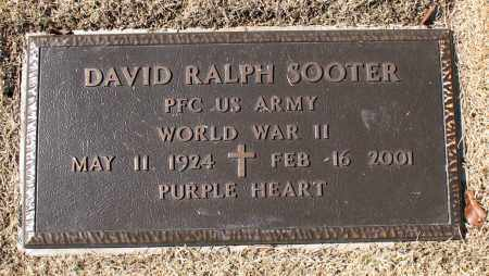 SOOTER (VETERAN WWII), DAVID RALPH - Carroll County, Arkansas | DAVID RALPH SOOTER (VETERAN WWII) - Arkansas Gravestone Photos