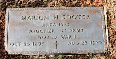 SOOTER (VETERAN WWI), MARION H - Carroll County, Arkansas | MARION H SOOTER (VETERAN WWI) - Arkansas Gravestone Photos