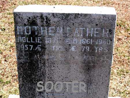 SOOTER, MOLLIE - Carroll County, Arkansas | MOLLIE SOOTER - Arkansas Gravestone Photos
