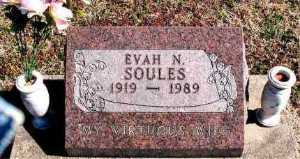 SOULES, EVAN N - Carroll County, Arkansas | EVAN N SOULES - Arkansas Gravestone Photos
