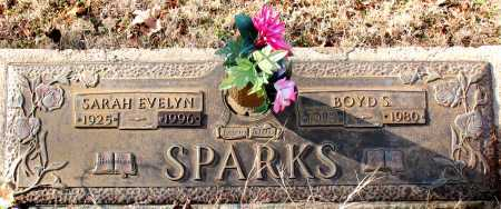 SPARKS, SARAH EVELYN - Carroll County, Arkansas | SARAH EVELYN SPARKS - Arkansas Gravestone Photos