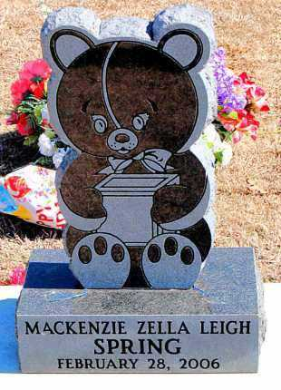 SPRING, MACKENZIE ZELLA LEIGH - Carroll County, Arkansas | MACKENZIE ZELLA LEIGH SPRING - Arkansas Gravestone Photos