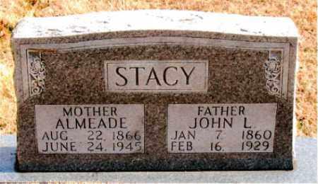 STACY, ALMEADE - Carroll County, Arkansas | ALMEADE STACY - Arkansas Gravestone Photos