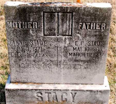 STACY, FANNIE - Carroll County, Arkansas | FANNIE STACY - Arkansas Gravestone Photos