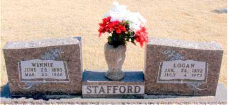 STAFFORD, LOGAN - Carroll County, Arkansas | LOGAN STAFFORD - Arkansas Gravestone Photos