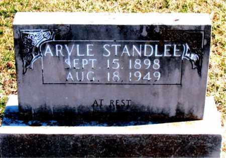 STANDLEE, ARVLE - Carroll County, Arkansas | ARVLE STANDLEE - Arkansas Gravestone Photos
