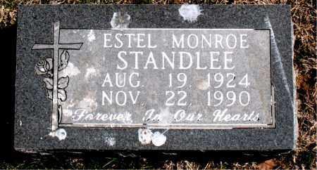 STANDLEE, ESTEL MONROE - Carroll County, Arkansas | ESTEL MONROE STANDLEE - Arkansas Gravestone Photos