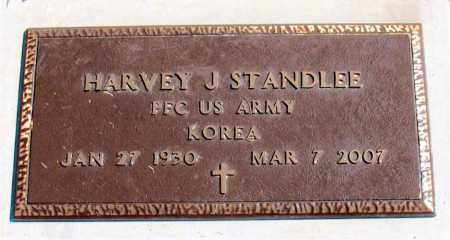 STANDLEE (VETERAN KOR), HARVEY J. - Carroll County, Arkansas | HARVEY J. STANDLEE (VETERAN KOR) - Arkansas Gravestone Photos