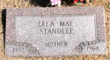 STANDLEE, LELA  MAE - Carroll County, Arkansas | LELA  MAE STANDLEE - Arkansas Gravestone Photos
