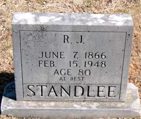 STANDLEE, R. J. - Carroll County, Arkansas | R. J. STANDLEE - Arkansas Gravestone Photos