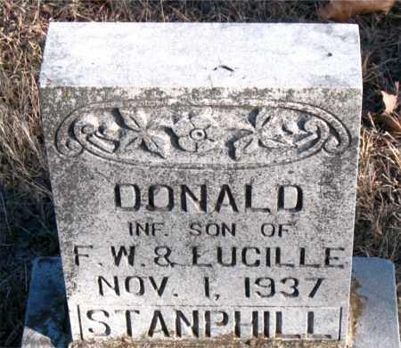 STANPHILL, DONALD - Carroll County, Arkansas | DONALD STANPHILL - Arkansas Gravestone Photos