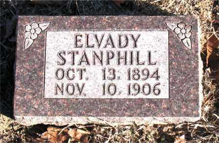 STANPHILL, ELVADY - Carroll County, Arkansas | ELVADY STANPHILL - Arkansas Gravestone Photos