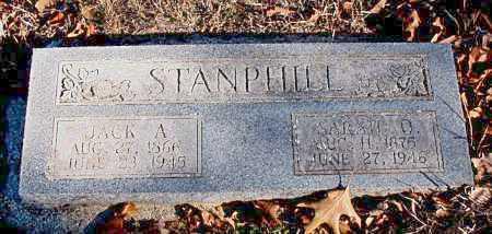 STANPHILL, JACK A. - Carroll County, Arkansas | JACK A. STANPHILL - Arkansas Gravestone Photos