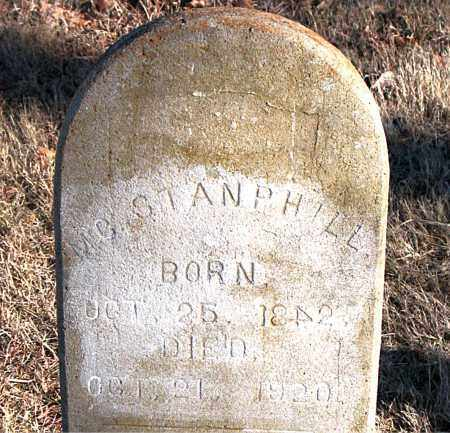 STANPHILL, M. C. - Carroll County, Arkansas | M. C. STANPHILL - Arkansas Gravestone Photos
