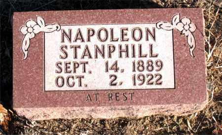 STANPHILL, NAPOLEON - Carroll County, Arkansas   NAPOLEON STANPHILL - Arkansas Gravestone Photos