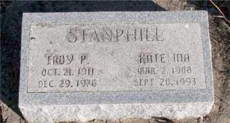 STANPHILL, KATE INA - Carroll County, Arkansas | KATE INA STANPHILL - Arkansas Gravestone Photos