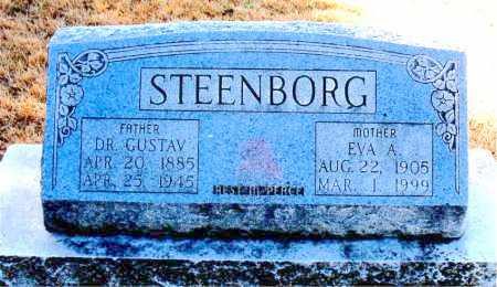STEENBORG, EVA A - Carroll County, Arkansas | EVA A STEENBORG - Arkansas Gravestone Photos